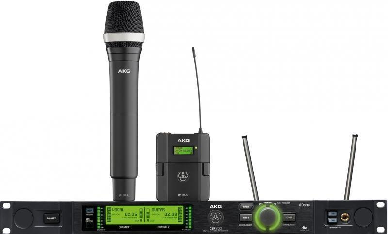 AKG DPT800 - Taschensender 548-606 + 614-698 MHz